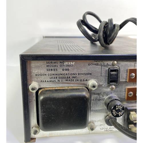 Bogen BR360 Solid State Stereo AM FM Receiver