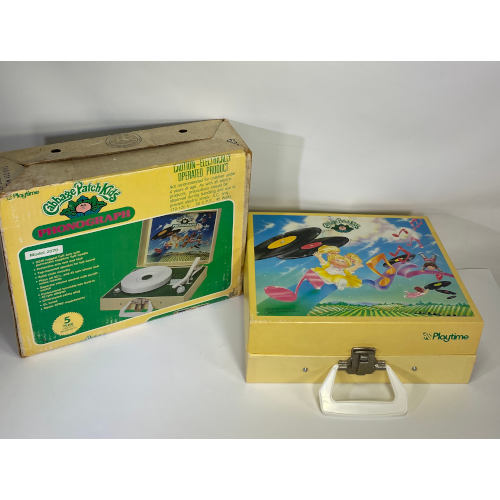 Cabbage Patch Portable Kids Record Player Model 2070