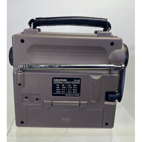 Grundig FR-200 AM FM SW Portable Emergency Radio
