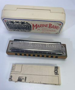 Hohner Marine Band Harmonica, Key of A