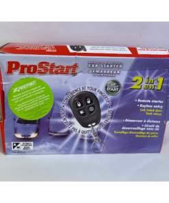 ProStart 4-Button Remote Starter With Keyless Entry Model 034-0743-4