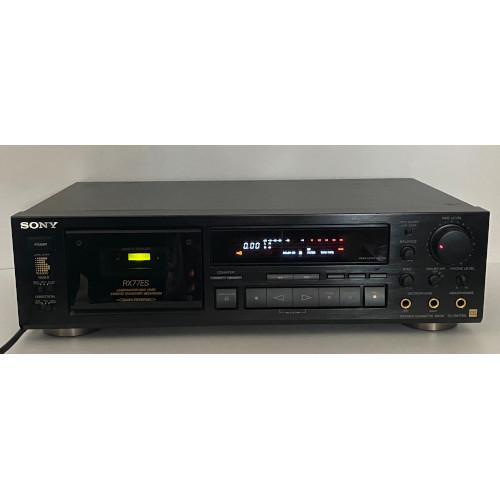 Sony TC-RX77ES 3 Motor Auto Reverse Stereo Cassette Deck