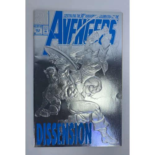 Avengers Silver Foil Celebration Dissension