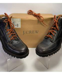 """J. Crew Men's """"Demolition 38345"""" Leather Boots"""