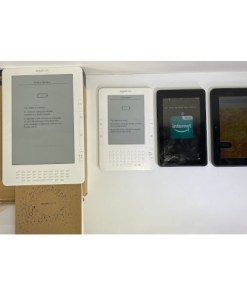 For Parts / Repair Lot of 4 Amazon Kindle Readers / Tablets