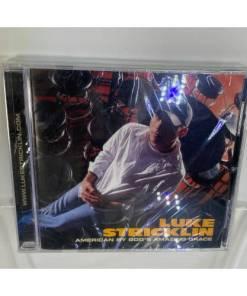Luke Stricklin: American By God's Amazing Grace CD
