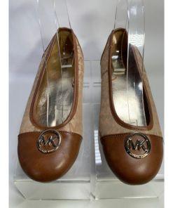 Michael Kors Girls Anissa Ballet Flats Shoes.