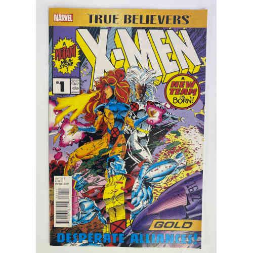 "True Believers X-Men Gold #1 ""Fresh Upstart"" 759606087242"