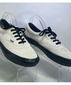 Vans Era Skate Breana Geering Marshmallow & Black Skate Shoes500714