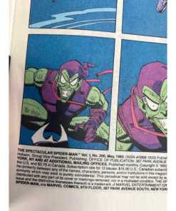 the Spectacular Spider-Man #200 (May 1993, Marvel) Best of Enemie