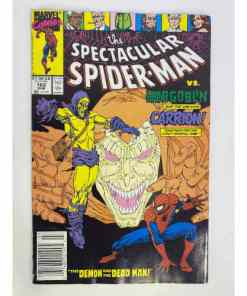 the Spectacular Spider-Man Vs Hobgoblin and the Unliving Carrion! the Demon and The Dead Man 071486021995