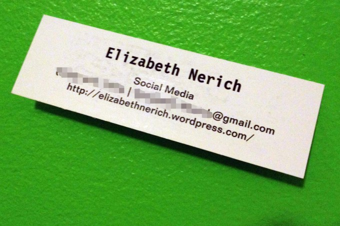 What information to put on a personal business card for What to put on personal business cards