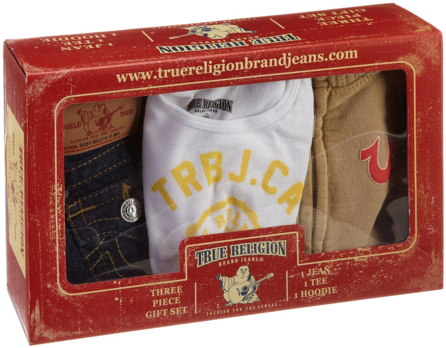 Discounted True Religion Unisex Baby Infant Baby 3 Piece