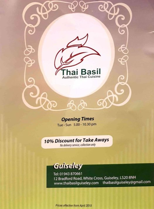 thai basil guiseley