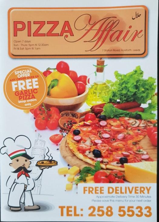pizza affair horsforth