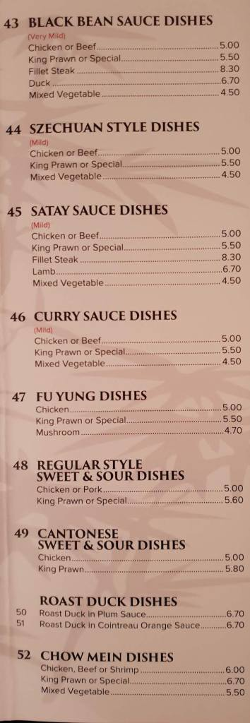 hong kong supercook menu