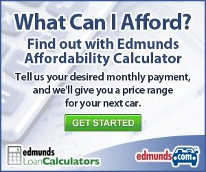 Edmunds Affordability Calculator