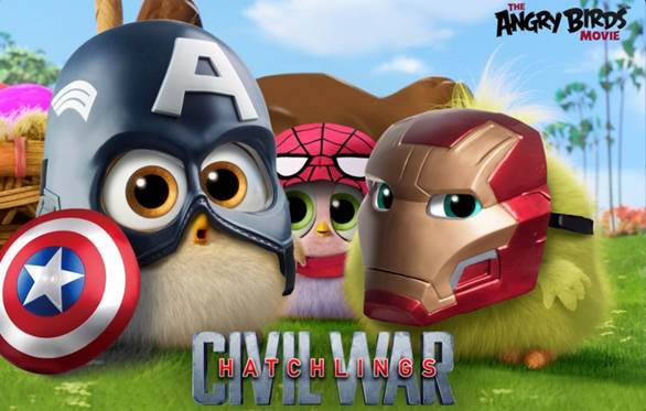 angry bird civil war
