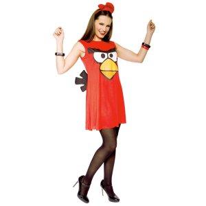 angry bird costume: $18
