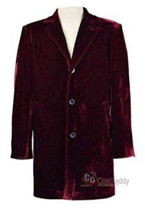 Mens Velvet Jacket Wine Red Coat