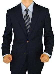 Giorgio Napoli Men's 2 Button Suit