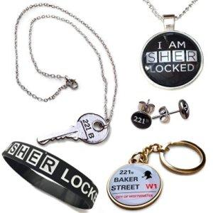 Sherlock Holmes Jewelry Gift Pack