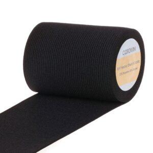wide-black-knit-heavy-stretch-elastic