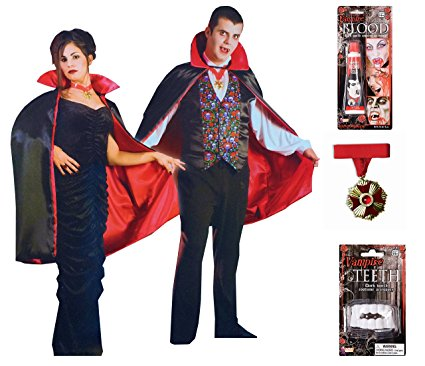 Mens & Womens Vampire Costume