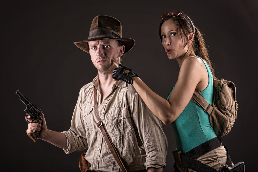 Angelina Jolie (Lara Croft Costume) from the Tomb Rider and the Harrison Jones (Indiana Jones costume) from the series of Indiana Jones are the most wanted ...  sc 1 st  Findurfuture.com & 33+ OUTCLASS IDEAS OF COUPLE HALLOWEEN COSTUMES - FIND YOUR FUTURE