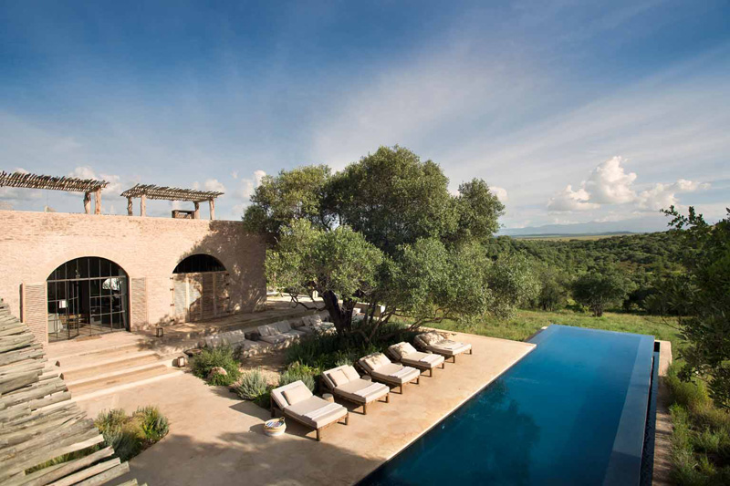 Beautiful Resort in Africa - Arijiju Retreat Laikipia Plateau Kenya - ELSEWHERE