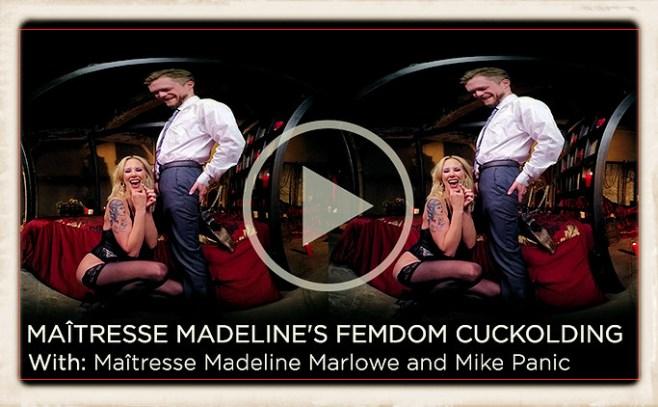 Maitresse Madeline KinkVR article header image