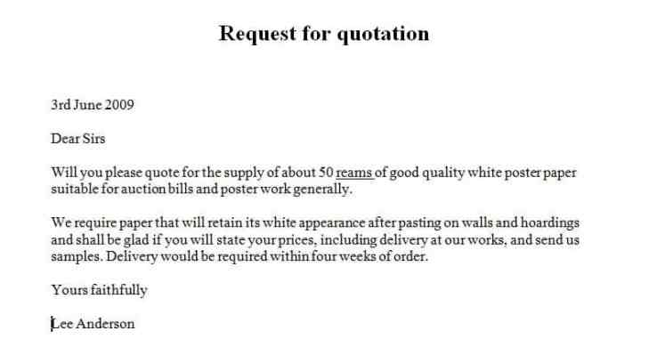 5 request for quote letters find word letters request for quote letter 03 stopboris Images