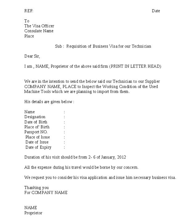 Requisition Letter 01  How To Write Requisition Letter