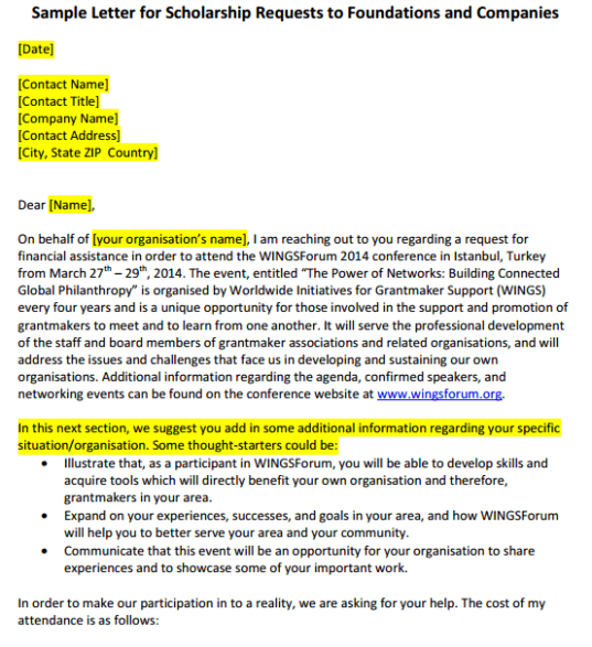 scholarship request letter sample 01