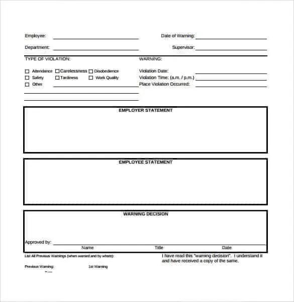 official employee write up form allkdramastk