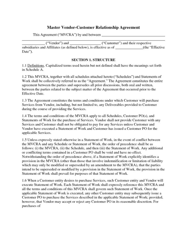 Relationship Contract Template 4.