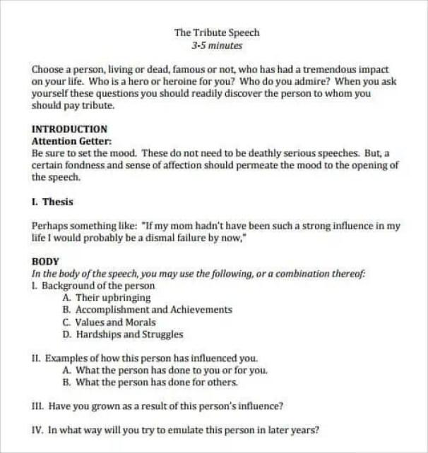Salutatorian Speech Example 4.