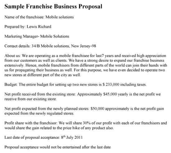 business proposal template 6.