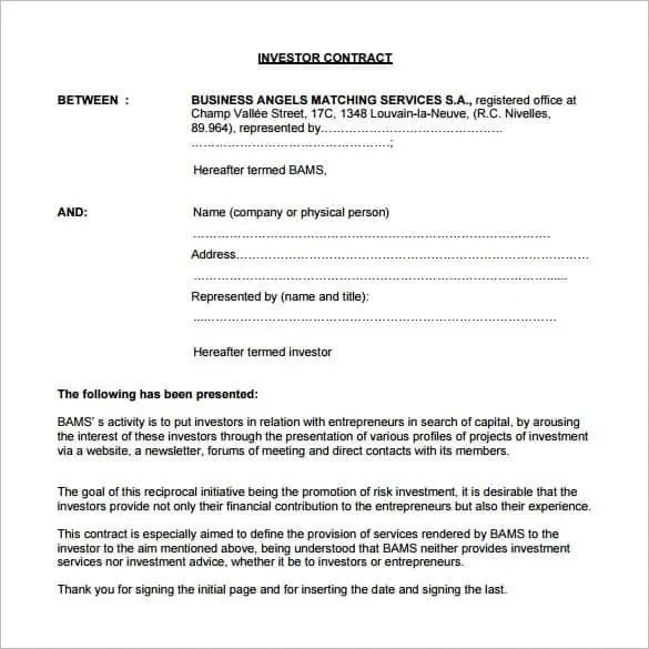 investment contract template 4.