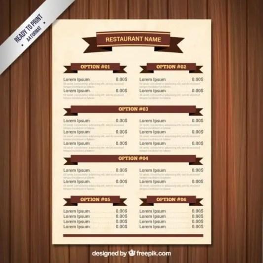 menu template 2.