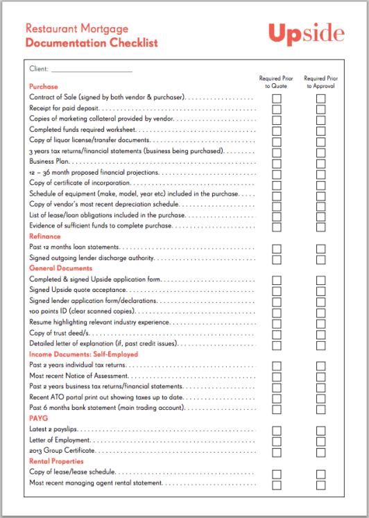 restaurant checklist template 6.