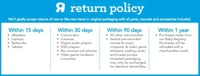 return policy template 6.