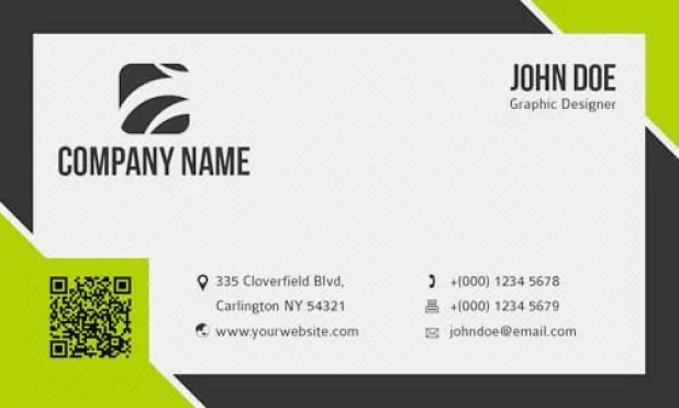 business card template 1.