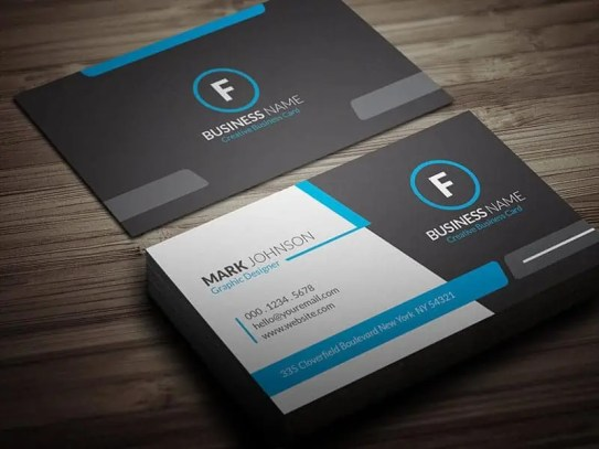 business card template 2.