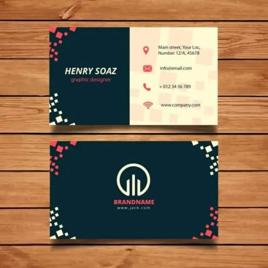 business card template 3.
