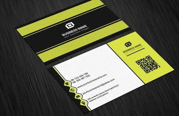 business card template 8.