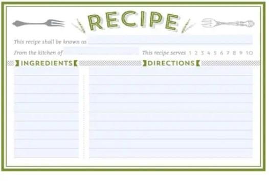 recipe card template 2.