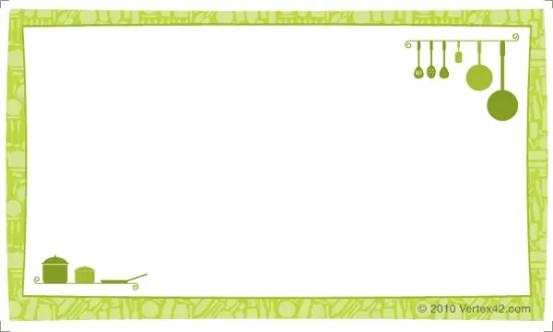 recipe card template 3.