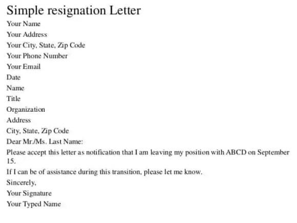 resignation-letter-format-4