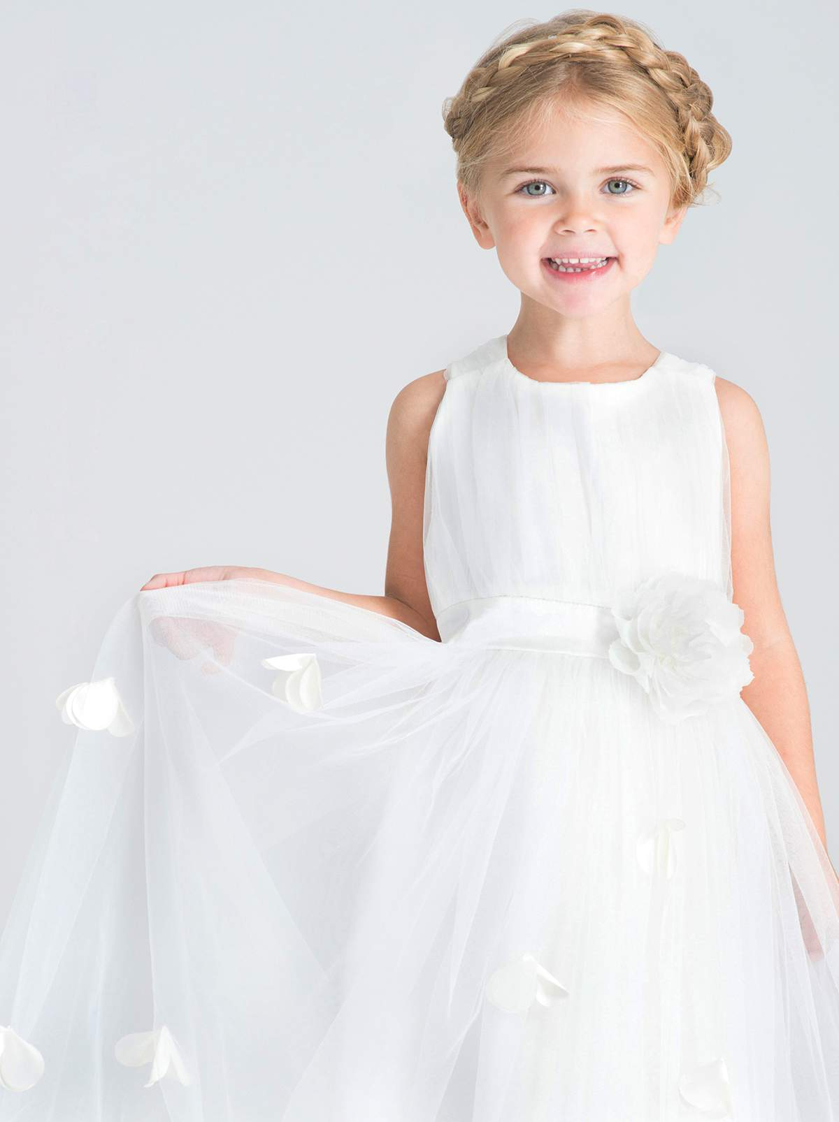 93819367370 If you d like your flowergirls to match the adult bridesmaids